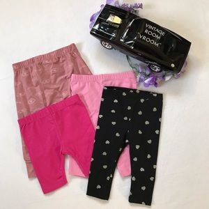 Assorted NWOT Bottoms for Baby Girls 0-9 Months